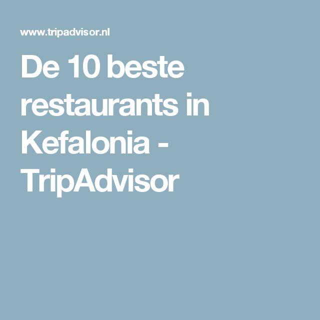 De 10 beste restaurants in Kefalonia - TripAdvisor