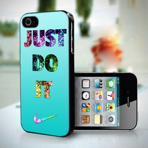 10259 Nike Just Do It Photo Tiffany - iPhone 4/4s Case   toko6 - Accessories on ArtFire