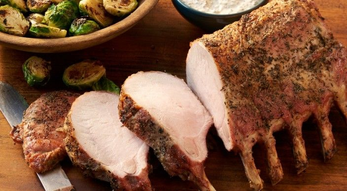 Check out this delicious recipe for Pork Rib Roast with Mustard Sauce from Weber—the world's number one authority in grilling.