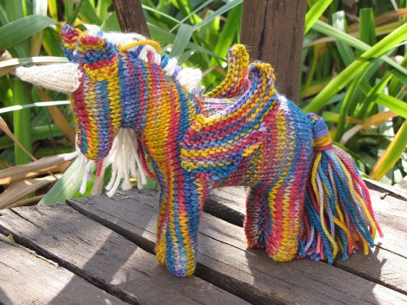 Rainbow Unicorn Knitting Pattern : Best images about unicorns on pinterest donuts young