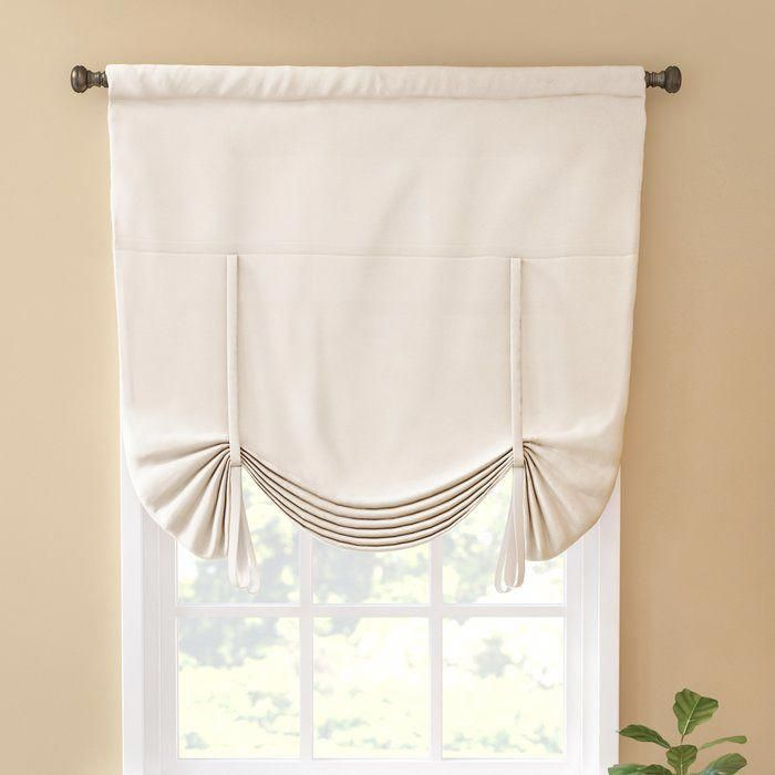 Columbia Blackout Window Tie Up Shade Homedecor Tie Up Shades