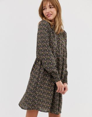 ea7654722b JDY ditsy printed smock dress in 2019 | Wardrobe | Dresses, Smock ...
