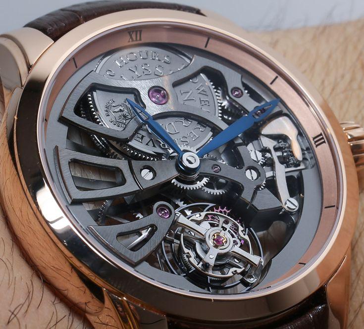 #UlysseNardin Skeleton Tourbillon Manufacture Watch Hands-On
