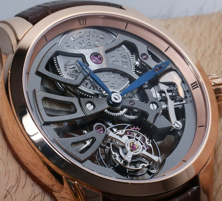 #UlysseNardin Skeleton Tourbillon Manufacture Watch Hands-On