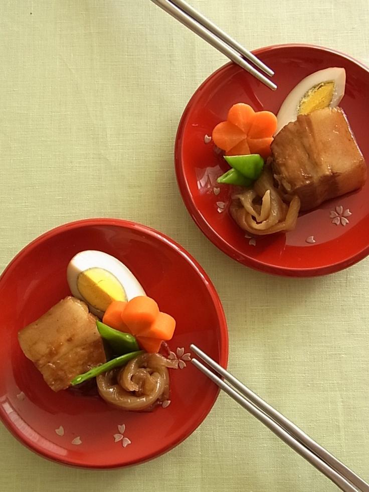 Rafute, Okinawan-Style Braised Pork Belly|沖縄ラフテー