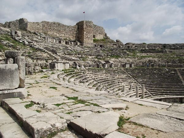 The Ancient ruins of Miletus in Turkey