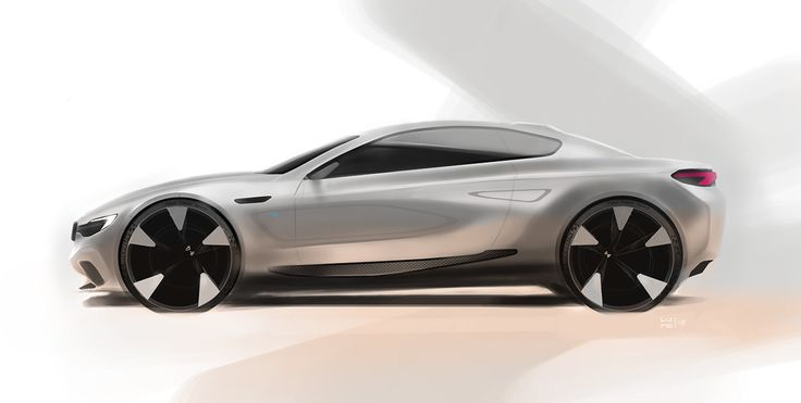 BMW sketches on Behance