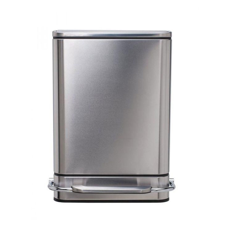 Poubelle Simplehuman Rectangular Steelbar 38 litres | Blokker