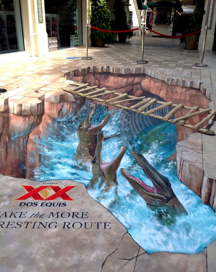 1000 ideas about 3d floor art on pinterest flooring for Floor 3d painting