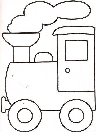 Manualidadesconmishijas: Moldes - Tren, Entretenimiento con las lentejas, pasta