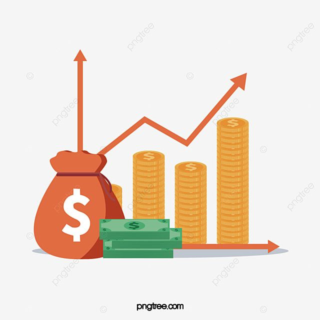 Financial Economic Rise Curve Economy Clipart Rise Dollar Png And Vector With Transparent Background For Free Download Mind Map Design Economics Background Design Coin Vector
