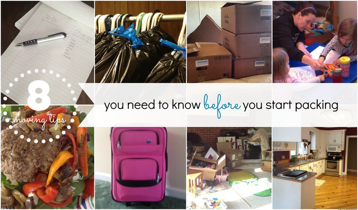 8 moving tips you need to know before you start packing!