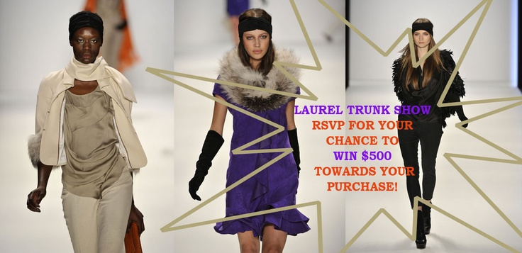 #Laurel RSVP for a chance to #win $500 towards your #purchase.