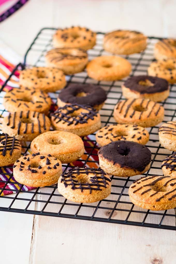 Peanut Butter Dog Donut Treats With Carob Icing Recipe Easy