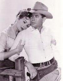 THE FASTEST GUN ALIVE (1957) - Glenn Ford - Jeanne Crain - Broderick Crawford - Directed by - MGM - Publicity Still.
