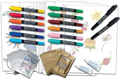 10 best stunt kits images on pinterest cheer stunts for Tattoo pen kit