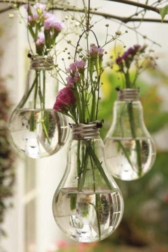 A great idea for old bulbs!
