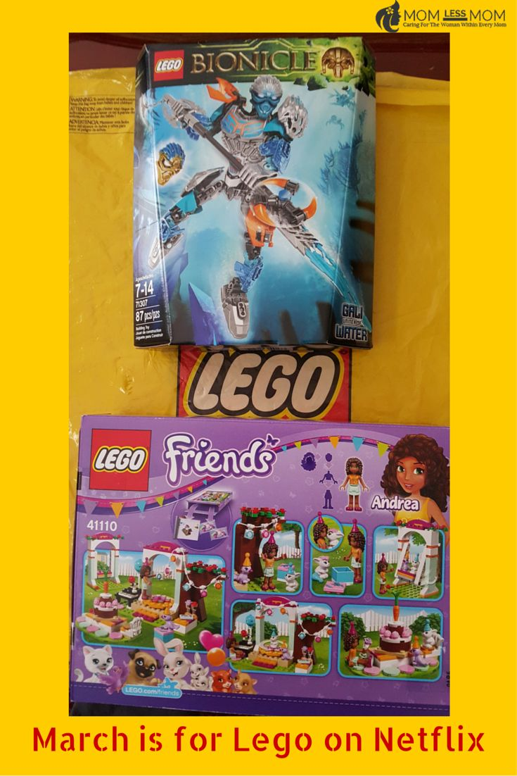 March is for #Lego on Netflix #StreamTeam
