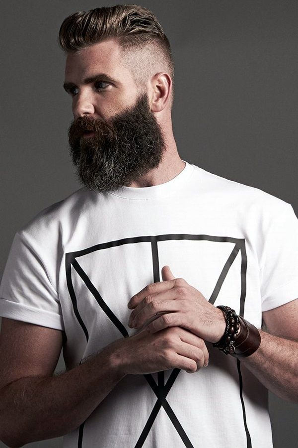 Cute Short and Full Beard Styles for Men (15)
