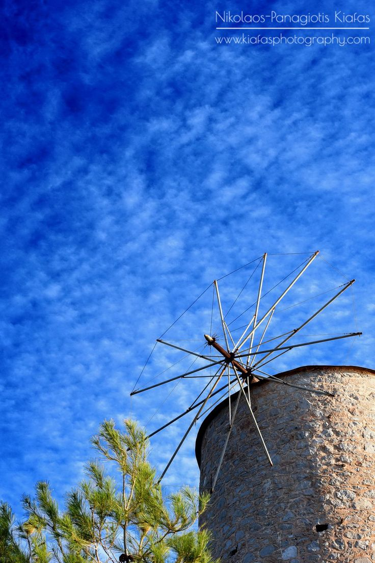 Hydra's beautiful windmill