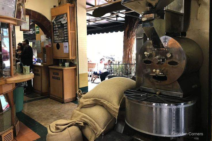 Our favorite coffee shop in Coyoacán, Mexico City.