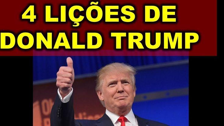 Visite-http://ift.tt/2ftUYt6 Vídeo-https://www.youtube.com/watch?v=ykkgMdRoRPQ A Vitoria de Donald Trump não foi muito esperada pela grande mídia e pegou todo mundo de surpresa e neste vídeo eu falo de 4 leis do marketing que Donald Trump usou que o fizeram ganhar a eleição e vencer Hillary Clinton.  Donald Trump é um empresário e ficou muito conhecido pelo seu reality show de negócios o aprendiz que foi apresentado no Brasil por Roberto Justus  Marketing é estrategia e a campanha de Donald…