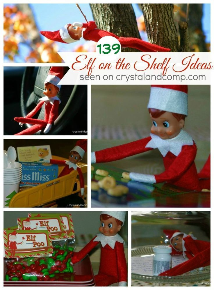 139 Elf on the Shelf Ideas from crystalandcomp