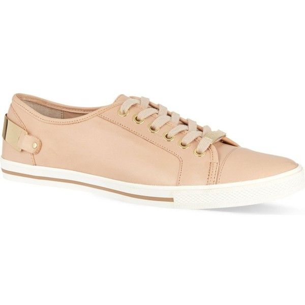 CARVELA Last trainers ($155) ❤ liked on Polyvore featuring shoes, sneakers, nude, nude shoes and carvela shoes