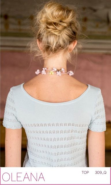 """OLEANA top in silk and merino wool.  """"really made in Norway"""""""
