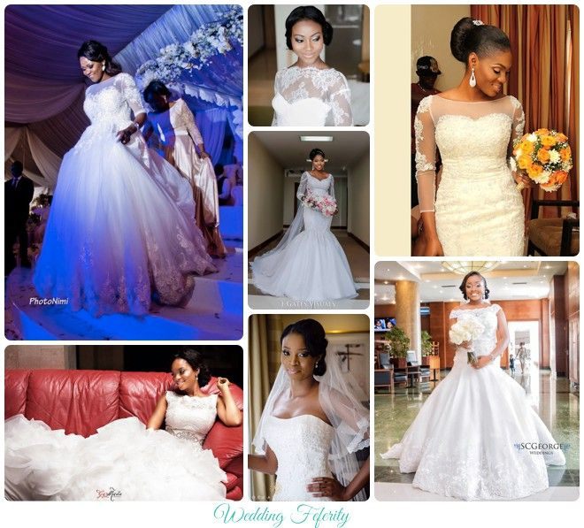 Black And White Gothic Wedding Dresses 2015 Custom Made: 1000+ Ideas About Nigerian Wedding Dress On Pinterest