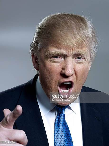 Entrepreneur Donald Trump is photographed for Bloomberg Businessweek on April 25 2011 in New York City Cover Image ON EMBARGO UNTIL AUGUST 02 2011
