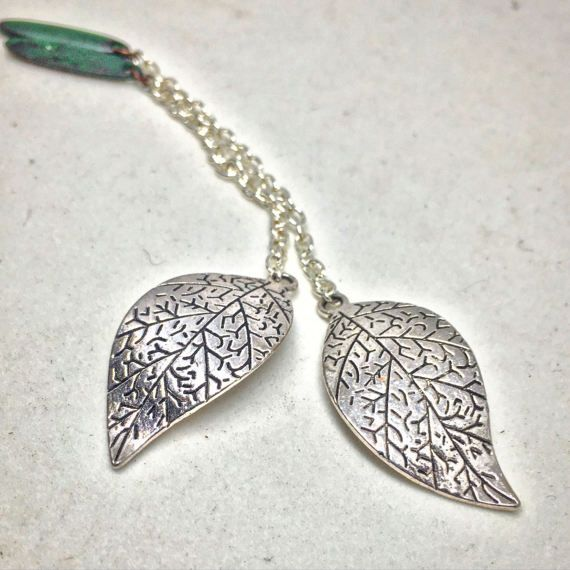 Silver Swaying Tree Dangle Chains for Magnetic