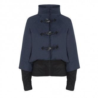 Georgia in Dublin Bronte Ladies Cycling Jacket - Navy