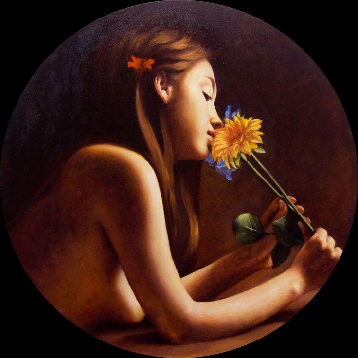 Andrea Esposito, Serenamente, olio su tela, 50cm, 2011