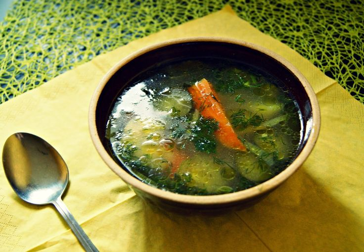 Ogórkowa po staropolsku (z mięsem)/Polish cucumber soup (with meat)