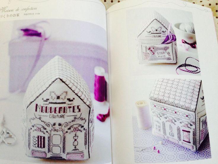 Cross Stich Pin Cushion French Biscornus Japanese Craft Book SP3 | eBay