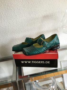 grüne Tiggers Schuhe Gr 40 in Haan