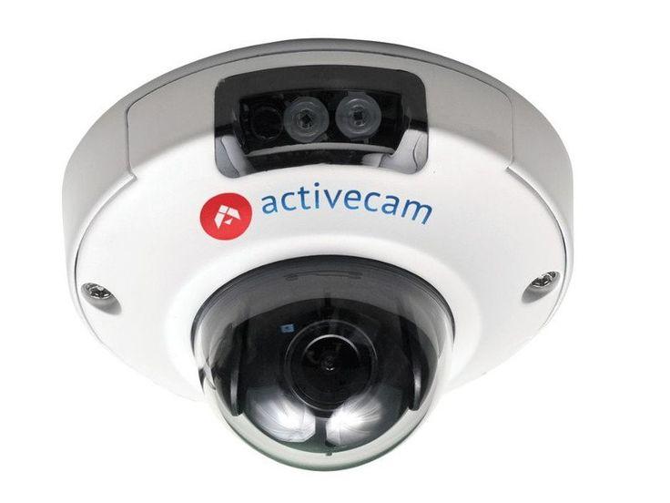 ActiveCam AC-D4121IR1 2.8 AC-D4121IR1 2.8 Миниатюрная купольная вандалозащищенная IP-видеокамера ActiveCam AC-D4121IR1. В основе камеры лежит матрица Sony Exmor 1/2.8'' CMOS. Чувствительность камеры составляет 0.05 Лк (F1.8) в цвете и 0 Лк (F1.8; ИК вкл.) в ч/б. Разрешение FullHD 1920*1080 25 к/с. В камере установлен фиксированный объектив 2.8мм. Камера поддерживает функции DWDR, 3D-NR, режим день/ночь, встроенный архив (Edge Storage) — microSD до 32 Гб, двусторонний аудиоканал. ИК-подсветка…