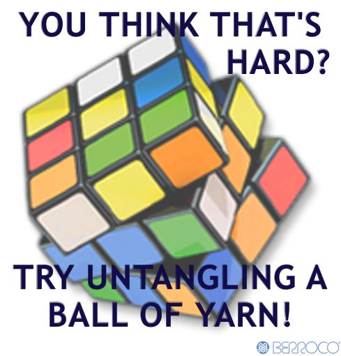 Yarn is harder...and so much more rewarding!
