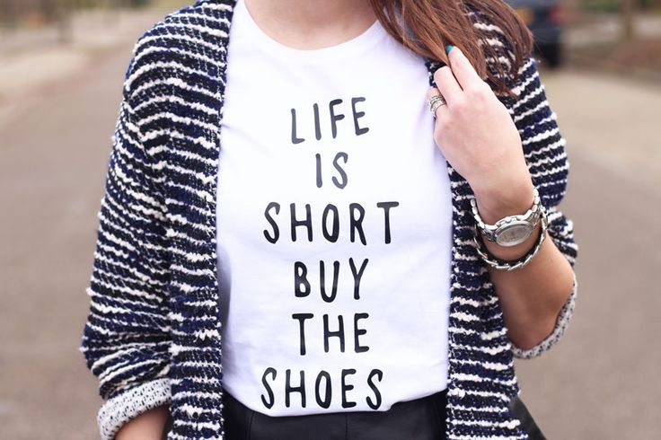 'Life is short buy the shoes', fashion blogger, Fashiable, outfit, quote