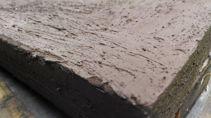 Concrete countertop slurry coat