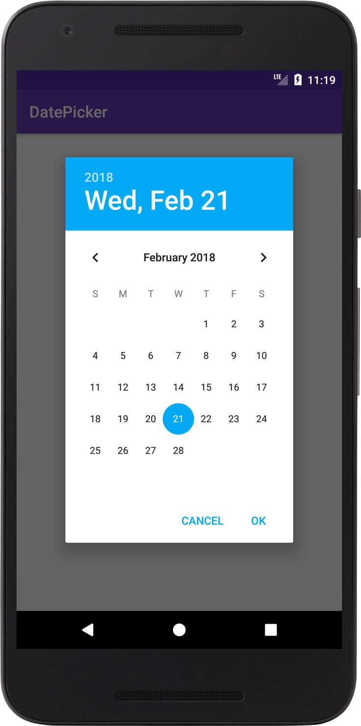 Android Datepicker – Using Datepickerdialog With Button