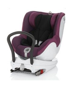 Britax Dualfix Combination Car Seat - Dark Grape. Birth to 4 years approx. http://www.parentideal.co.uk/mothercare---car-seat.html