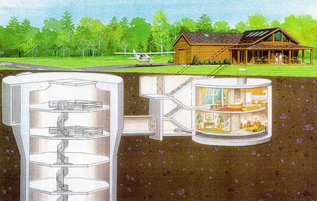 Nuclear Missile Silo Homes