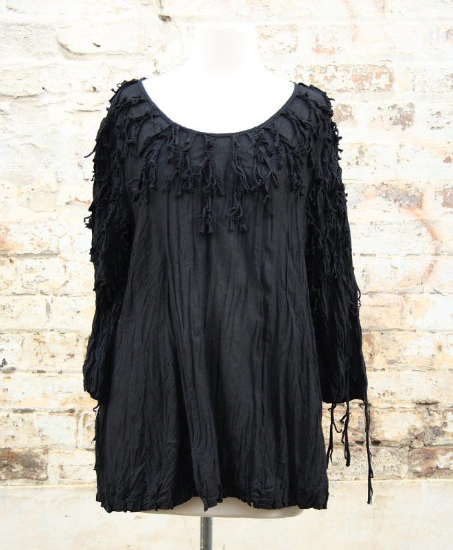 Bobbly Top in Black   Women's Fashion   Dresses, Tops and more   Et La Mer