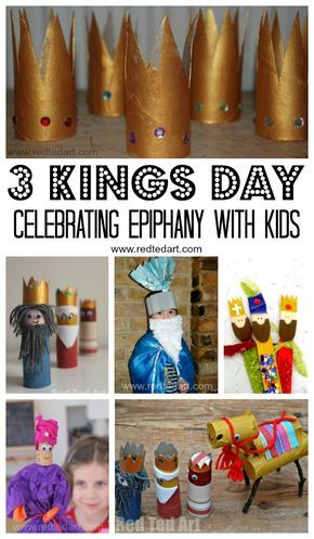 Three Kings Day Crafts - Celebrating Epiphany and the arrival of the three wise men with kids. Some simple and lovely 3 Kings Day activities for kids #epipgany #threekingsday #3kingsday #wisemen #magi #Christmas #Christian