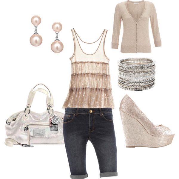 Day date outfit, summer, created by cammietex