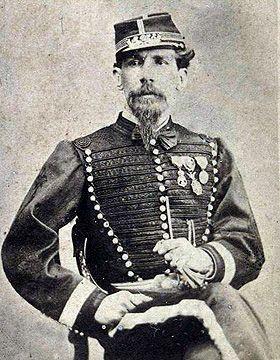 "The Mexican Adventure: Uniforms: Mexican Imperial Troops Colonel Pedro Gonzalez Commander, Lancers ""Emperatriz"", 1866-1867"