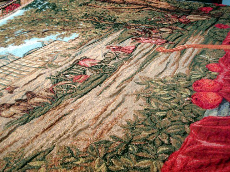 объемное ткачество на гобелене