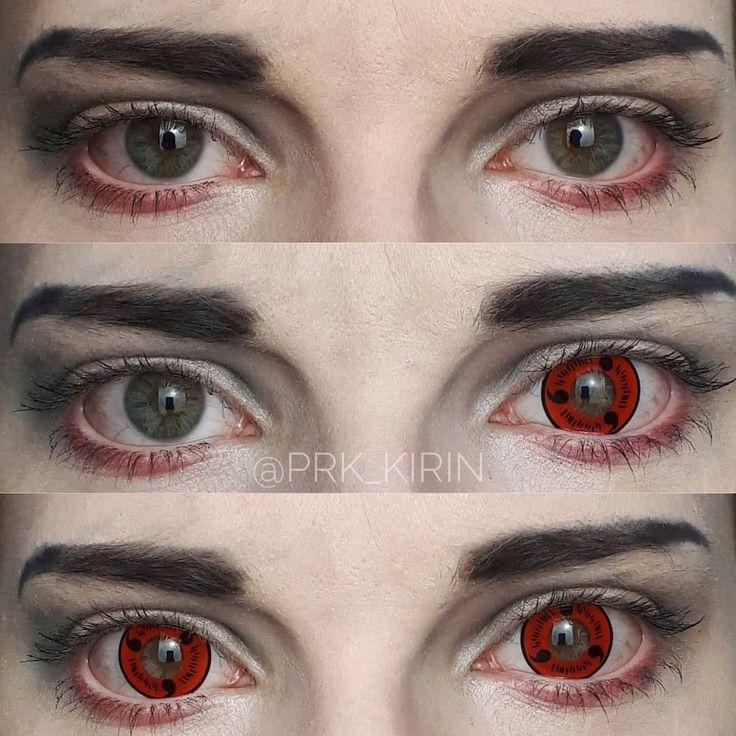 Sharingan Magatama Colored Contact Lenses in 2020 Eye